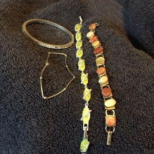 Jewelry - Lot of four vintage bracelets